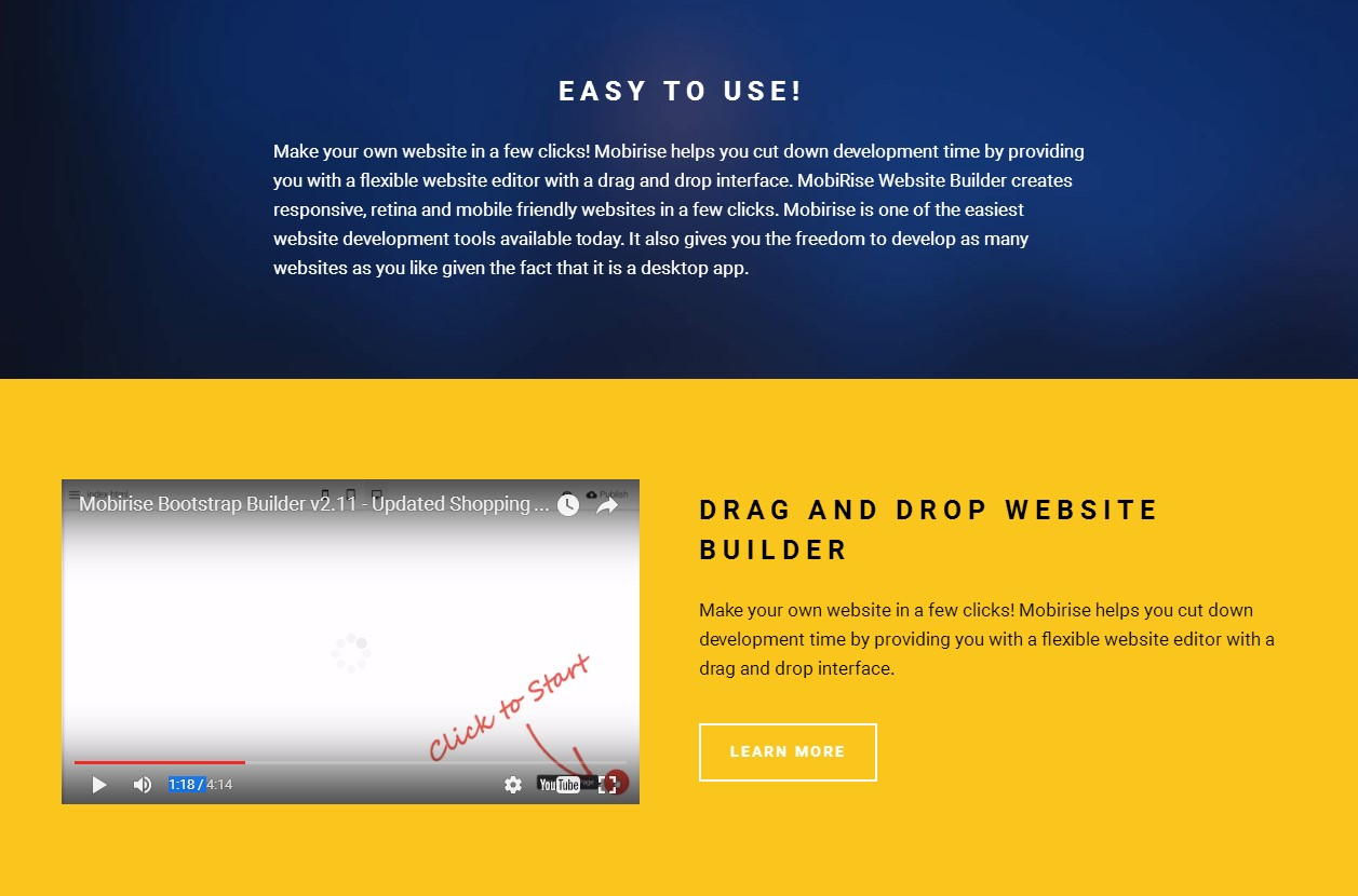 we have a better range of drag and drop website builders than before