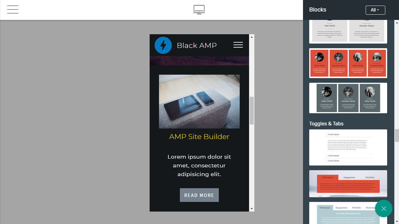 Responsive Page Builder