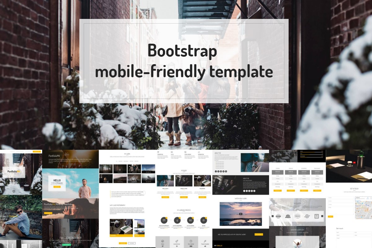 Bootstrap Ecommerce