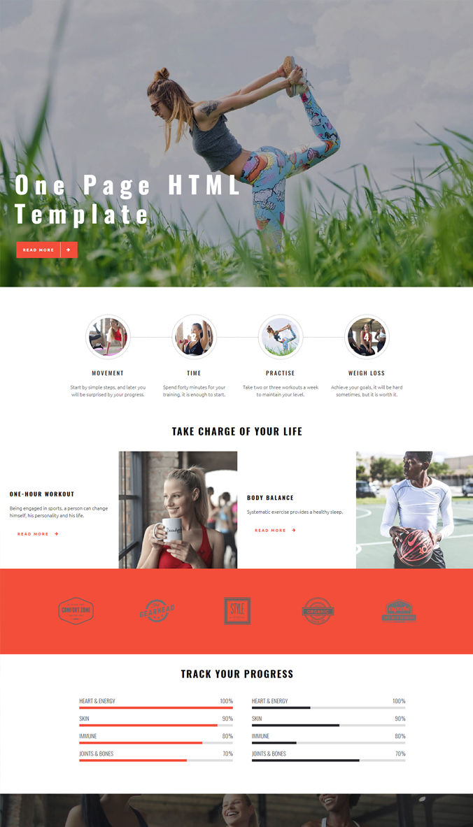 Adaptive Website Templates